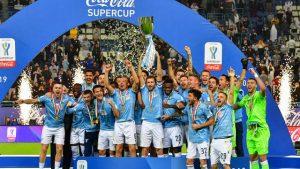 Hasil Piala Super Italia;  Juventus Vs Lazio 1 - 3