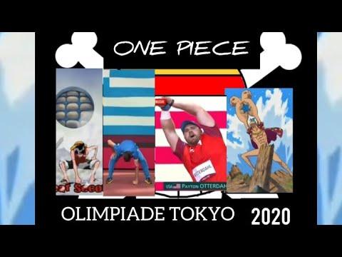 Pose Ikonik Luffy Dan Franky Ditirukan Atlet Olimpiade Tokyo